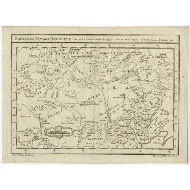 Carte de la tartarie occidentale - Bellin (1749)