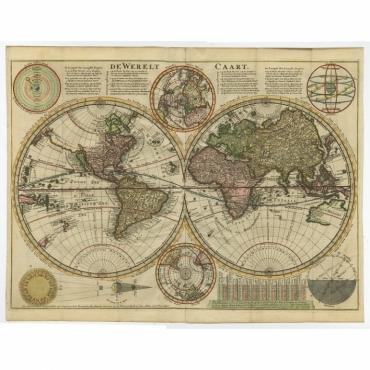 De Werelt Caart - Danckerts (1710)