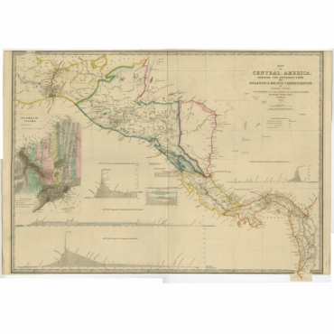 Map of Central America (..) - Wyld (1850)