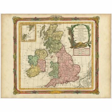 Les Isles Britanniques (..) - Brion de la Tour (1766)