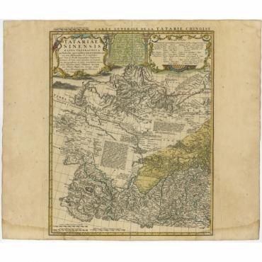 Carte Generale de Tartarie Chinoise (..) - Homann Heirs (1749)