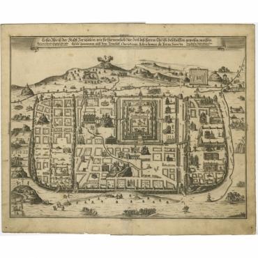 Erster Abriss der Stadt Jerusalem (..) - Fleischmann (1708)