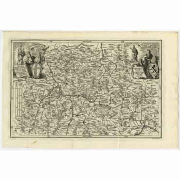 Franconia multa numerat loca (..) - Scherer (1699)