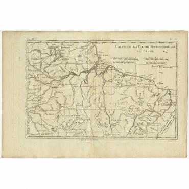 Carte de la Partie Septentrionale du Bresil - Bonne (c.1780)