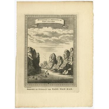 Montagnes et Detroits de Sang Wan Hab II - Van Schley (1750)