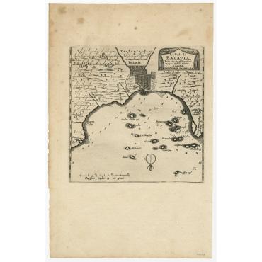 La Rade de Batavia - Van der Aa (1719)