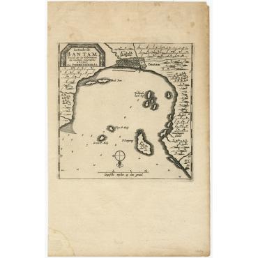 La Rade de Bantam - Van der Aa (1714)