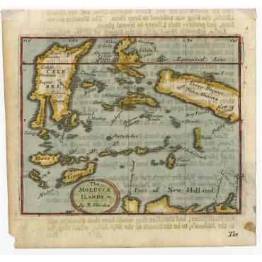The Molucca Ilands - Morden (1688)