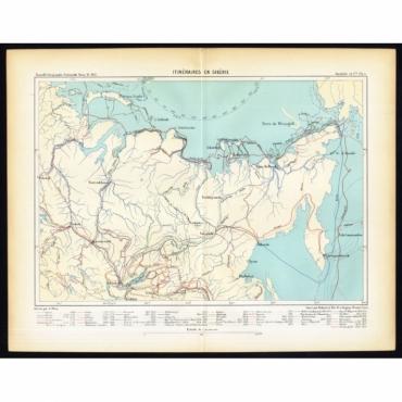 Itineraires en Siberie - Reclus (1881)