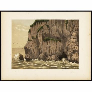 Pl.II p.48 Goenoeng Ballong mountain on Java - Perelaer (1888)