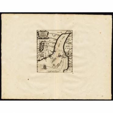 Le Golfe de Cambaye at la Rade de Suratte - Van der Aa (1725)