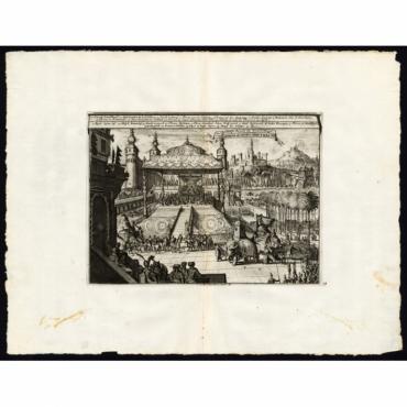 Cour et Pompe Royale du Grand-Mogol/Mogols Hof en Hofpracht - Van der Aa (1725)