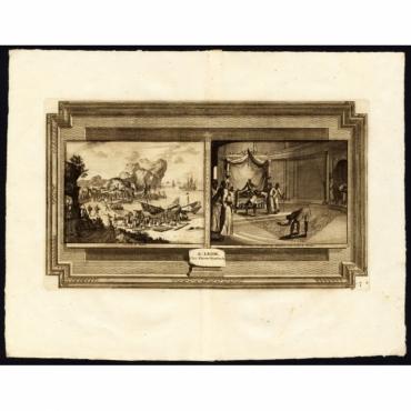La ville de Dabul (..) - Van der Aa (1725)
