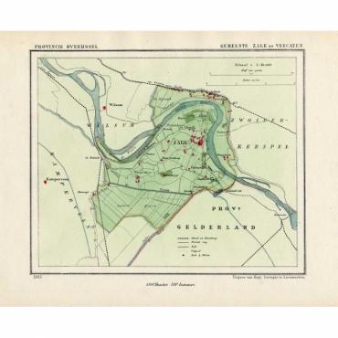 Gemeente Zalk en Veecaten - Kuyper (1865)