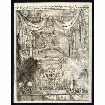 Chineese Hof pomp - De Hooghe (1682)