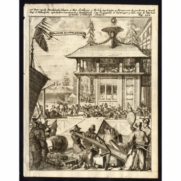 Japanse Koophandel - De Hooghe (1682)