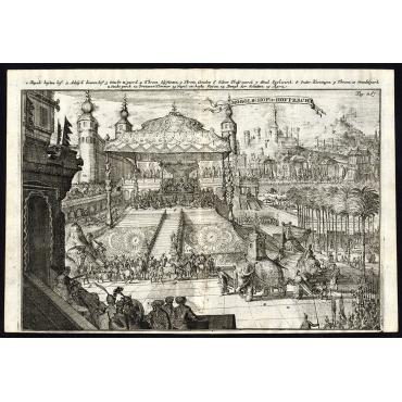 Mogols Hof en Hofpracht - De Hooghe (1682)