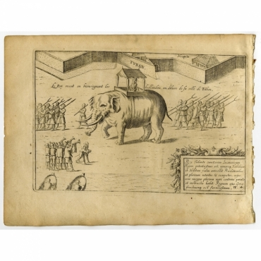 Pl.4-9 Six prints of Tuban - Commelin (1646)