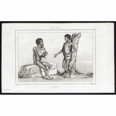 Pl.249 Indigenes, Iles Viti - Rienzi (1836)