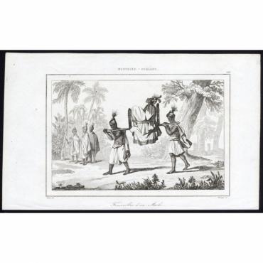 Pl.186 Funerailles d'un Aiki, Nouvelle-Zeeland - Rienzi (1836)