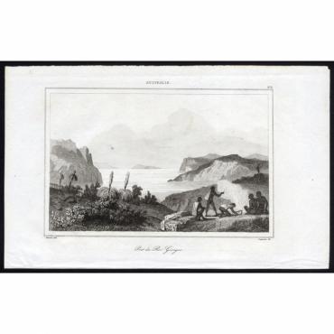 Pl.274 Port du Roi George, Australie - Rienzi (1836)