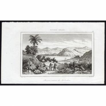 Pl.189 Ancienne maison de Kororokoro, Nouvelle-Zeeland - Rienzi (1836)