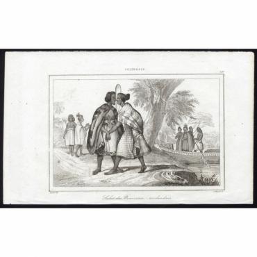 Salut des Nouveaux-zeelandais - 187, Polynesie - Rienzi (1836)