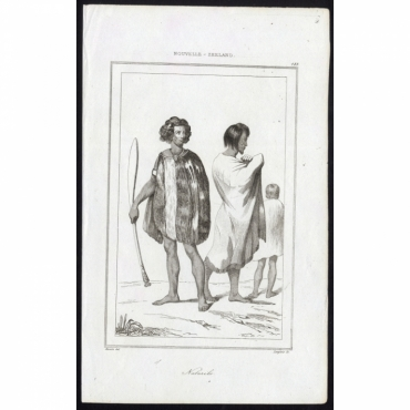 Naturels - 183, Nouvelle-Zeeland - Rienzi (1836)