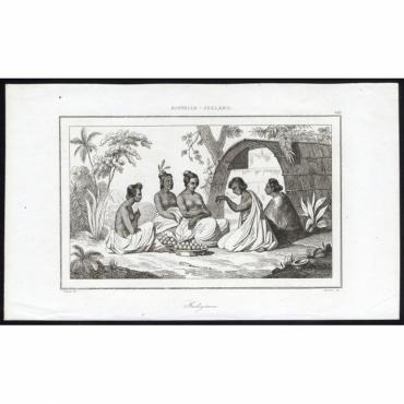 Indigenes - 185, Nouvelle-Zeeland - Rienzi (1836)