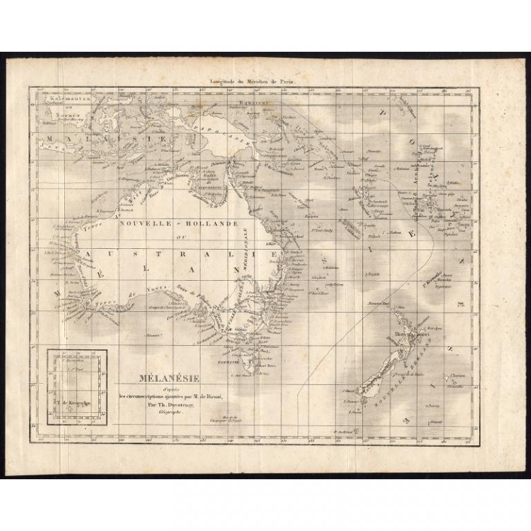 Melanesie - Rienzi (1836)