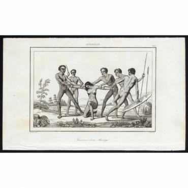 Ceremonie d'un Mariage - 263, Australie - Rienzi (1836)