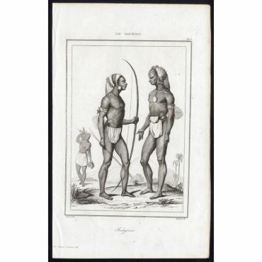 Indigenes - 245, Ile Vanikoro - Massard (1836)