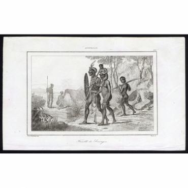 Famille de Sauvages - 260, Australie - Rienzi (1836)