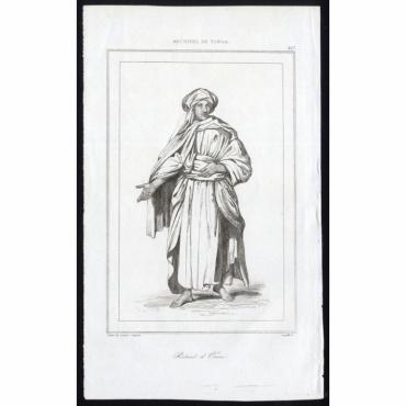 Portrait d'Omai - 207, Archipel de Tonga - Rienzi (1836)