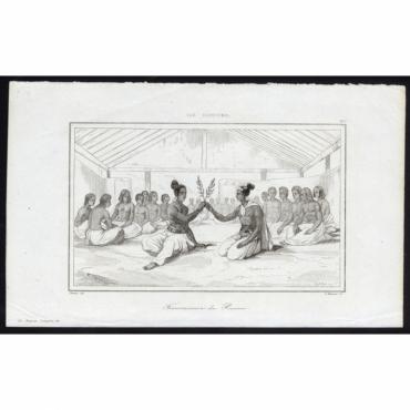 Transmission du Pouvoir - 217, Ile Rotouma - Rienzi (1836)
