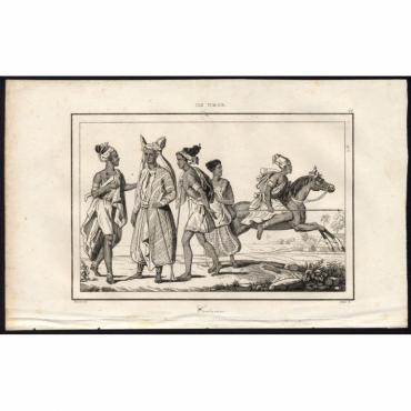 Costumes - 44, Ile Timor - Rienzi (1836)