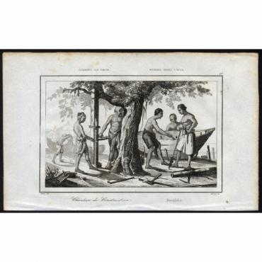Chantier de Construction - 48, Coupang, ile Timor - Rienzi (1836)