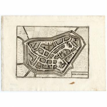 Pl.20 Bolzvardia - Coronelli (1706)
