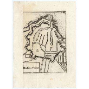 Pl.72 Harlingen - Coronelli (1706)