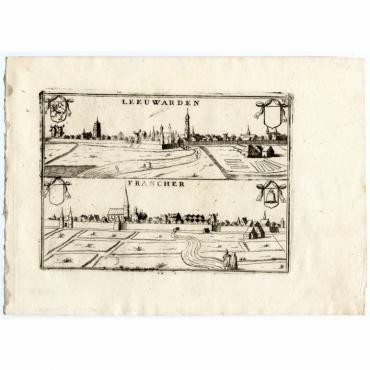 Pl.13 Leeuwarden, Francher - Coronelli (1706)