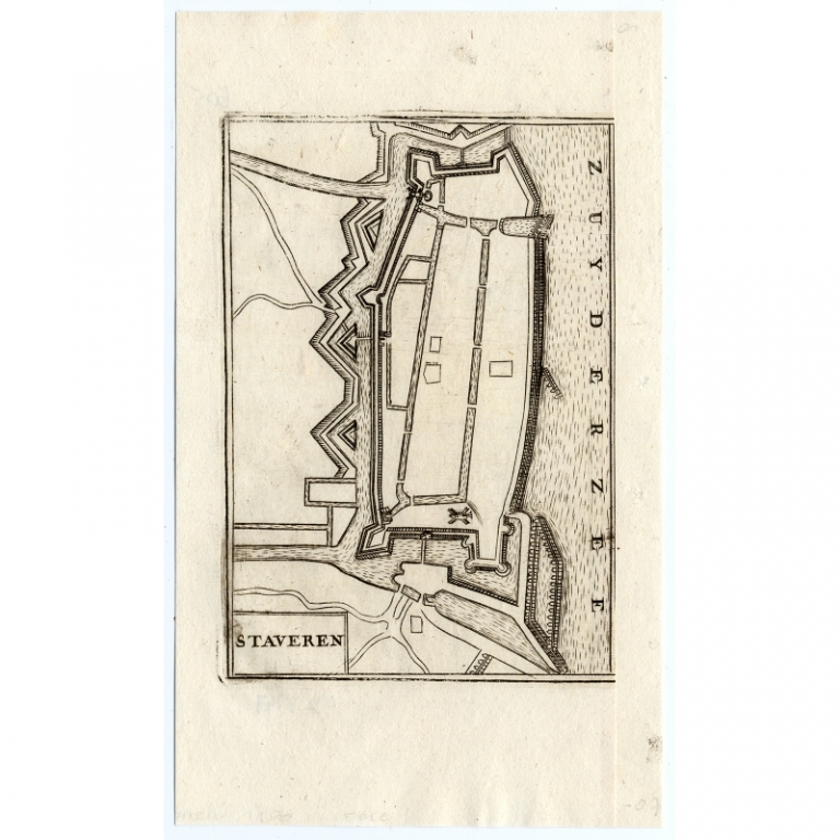 Staveren - Coronelli (1706)
