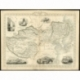 Antique Map of the Chinese Empire by Tallis (c.1851)