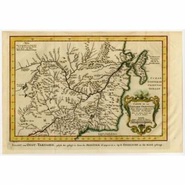 Carte de la Tartarie orientale - Bellin (1758)