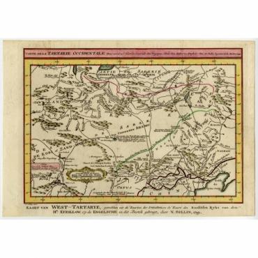 Carte de la Tartarie occidentale - Bellin (1758)