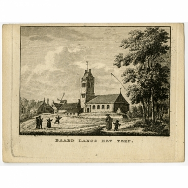 Baard langs het terp - Bendorp (1792)