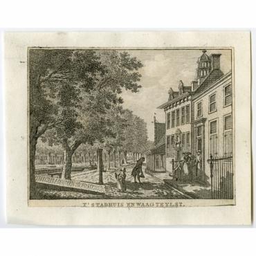 T' Stadhuis en Waag te Ylst - Bendorp (1792)