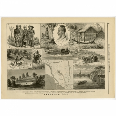 Kambodja - Julien (c.1900)