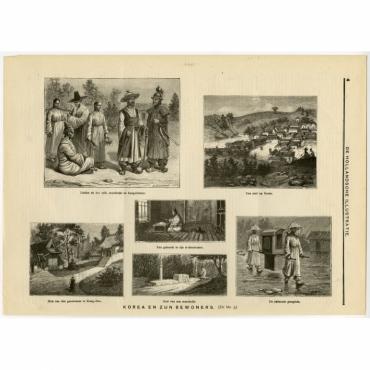 Korea en zijn bewoners - Anonymous (c.1900)
