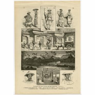 Tonkin en zijn bewoners - Navellier (c.1900)