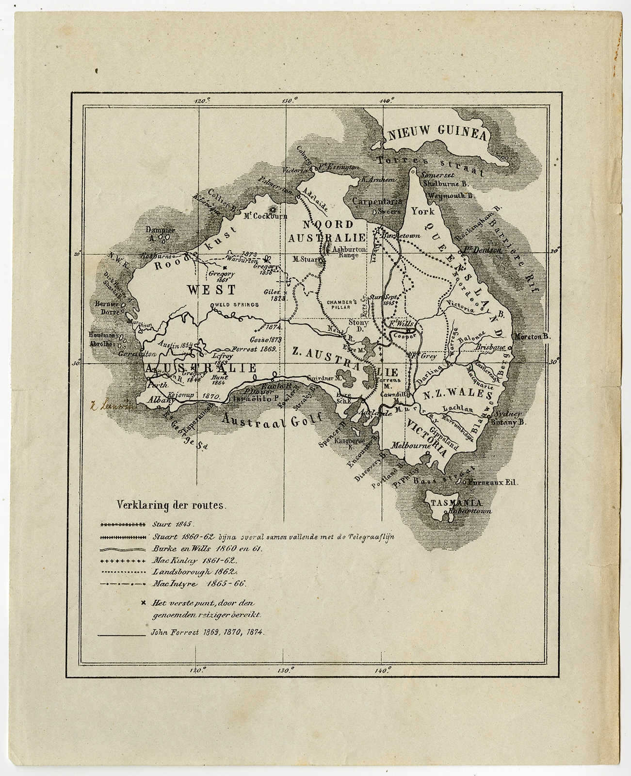 Australia Map 1900.Untitled Map Of Australia Anonymous C 1900